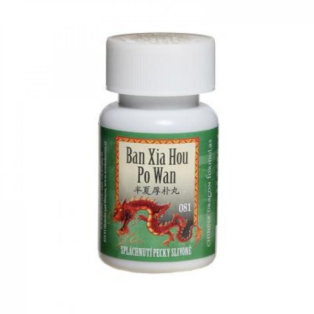 TCM Spláchnutí pecky slivoně (Ban Xia Hou Po Wan 081) 200 kuliček