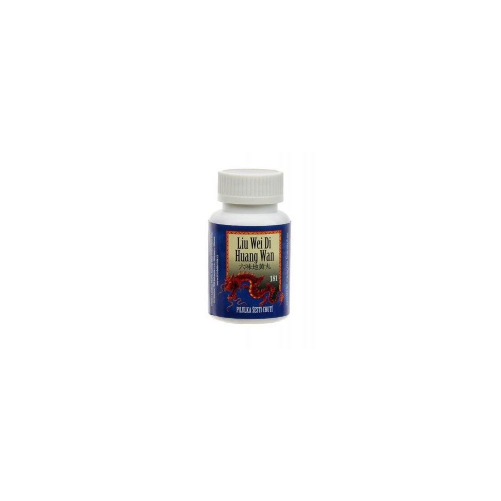 TCM Pilulka šesti chutí (Liu Wei Di Huang Wan 181) 200 kuliček