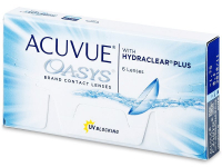 JOHNSON Acuvue Oasys Plus 6 čoček