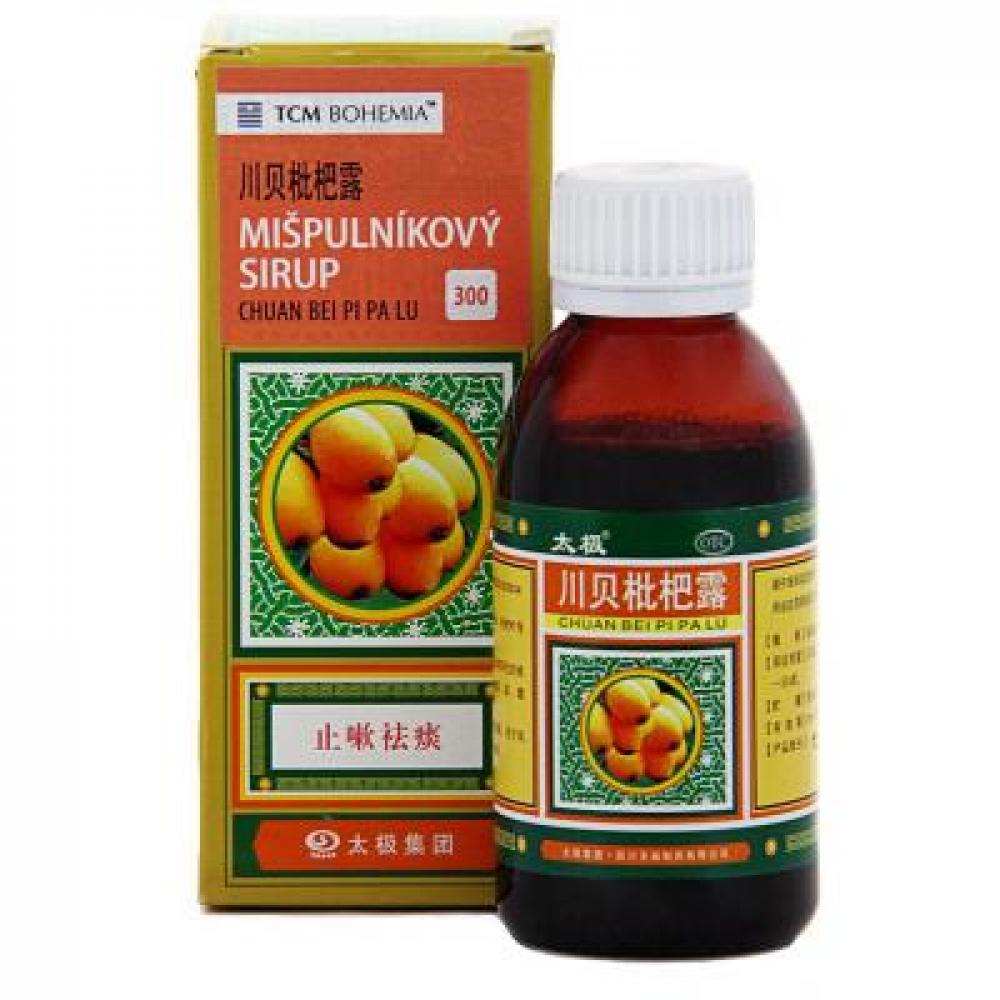 TCM Mišpulníkový sirup (Chuan Bei Pi Pa Lu 300) 120 ml