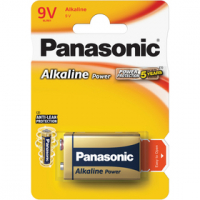 PANASONIC 6LR61 1BP 9V power alkalická baterie