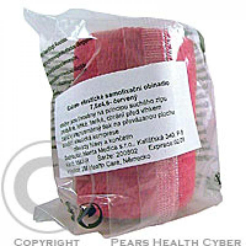 3M Coban elastické samofixační obinadlo 7.5 cmx4.5 m 1 ks červené