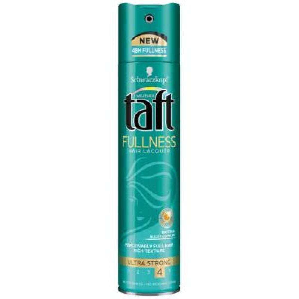 TAFT Fullness lak na vlasy ultra silně tužící 250 ml