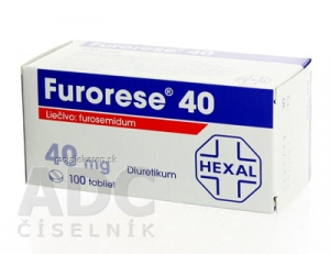 FURORESE 40  100X40MG Tablety