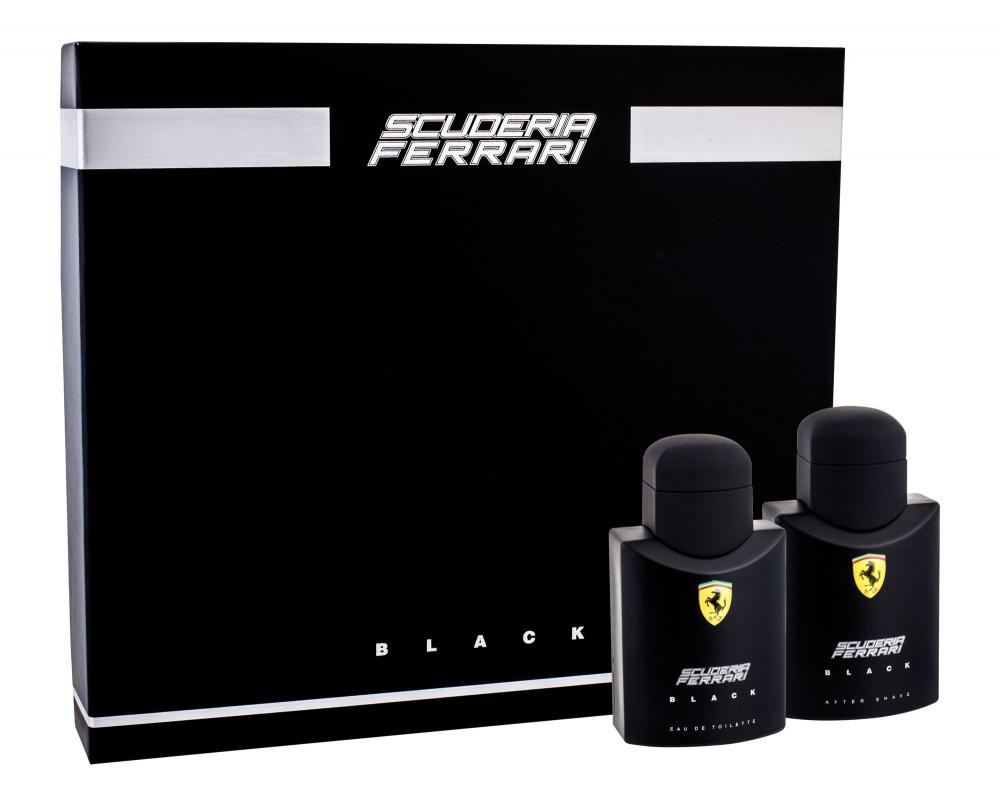 FERRARI Scuderia Ferrari Black Toaletní voda 75 ml + Voda po holení 75 ml