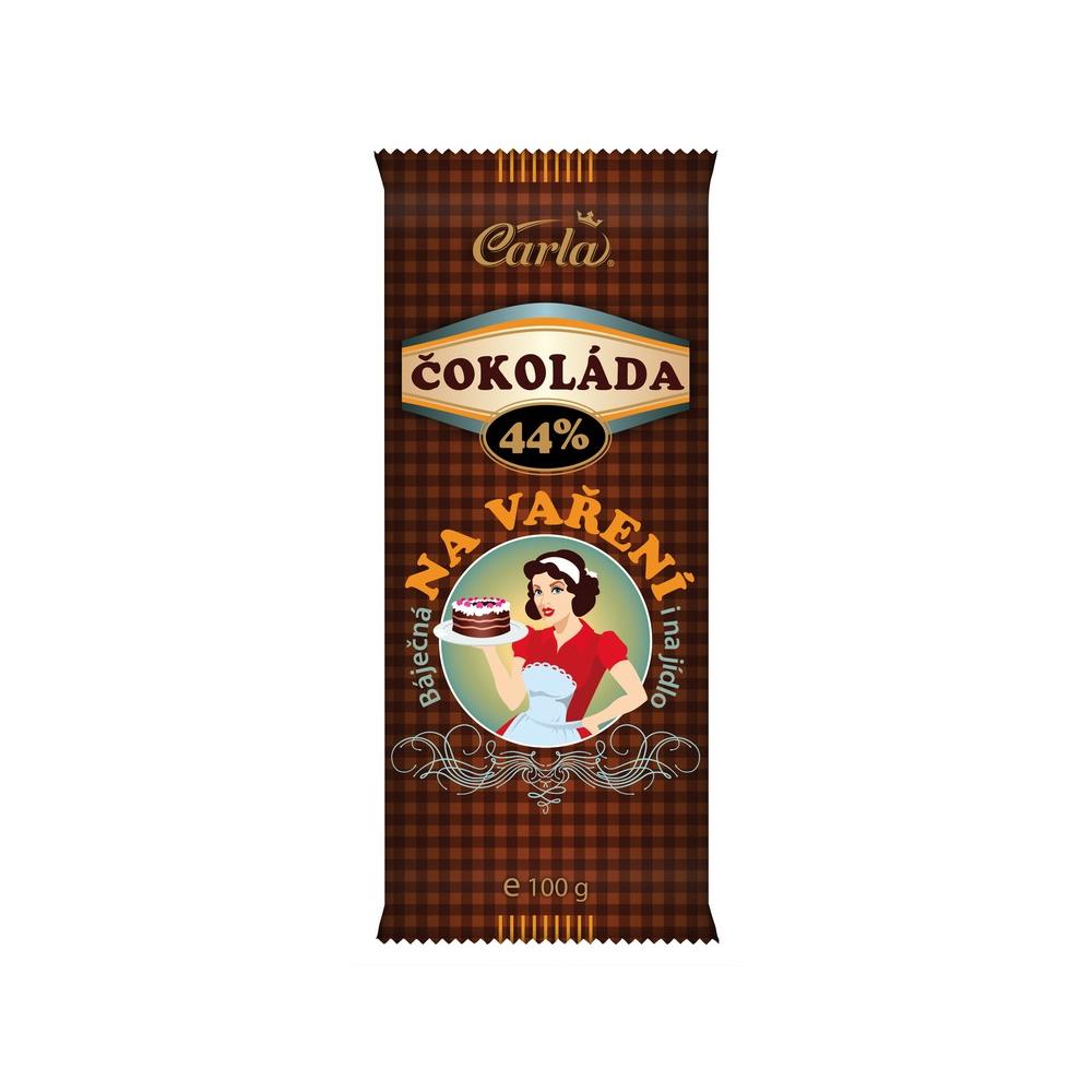 CARLA Čokoláda na vaření 100 g