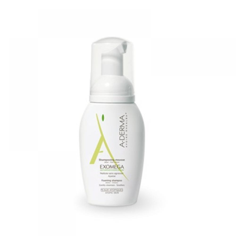 A-DERMA Exomega Pěnový šampon 125 ml