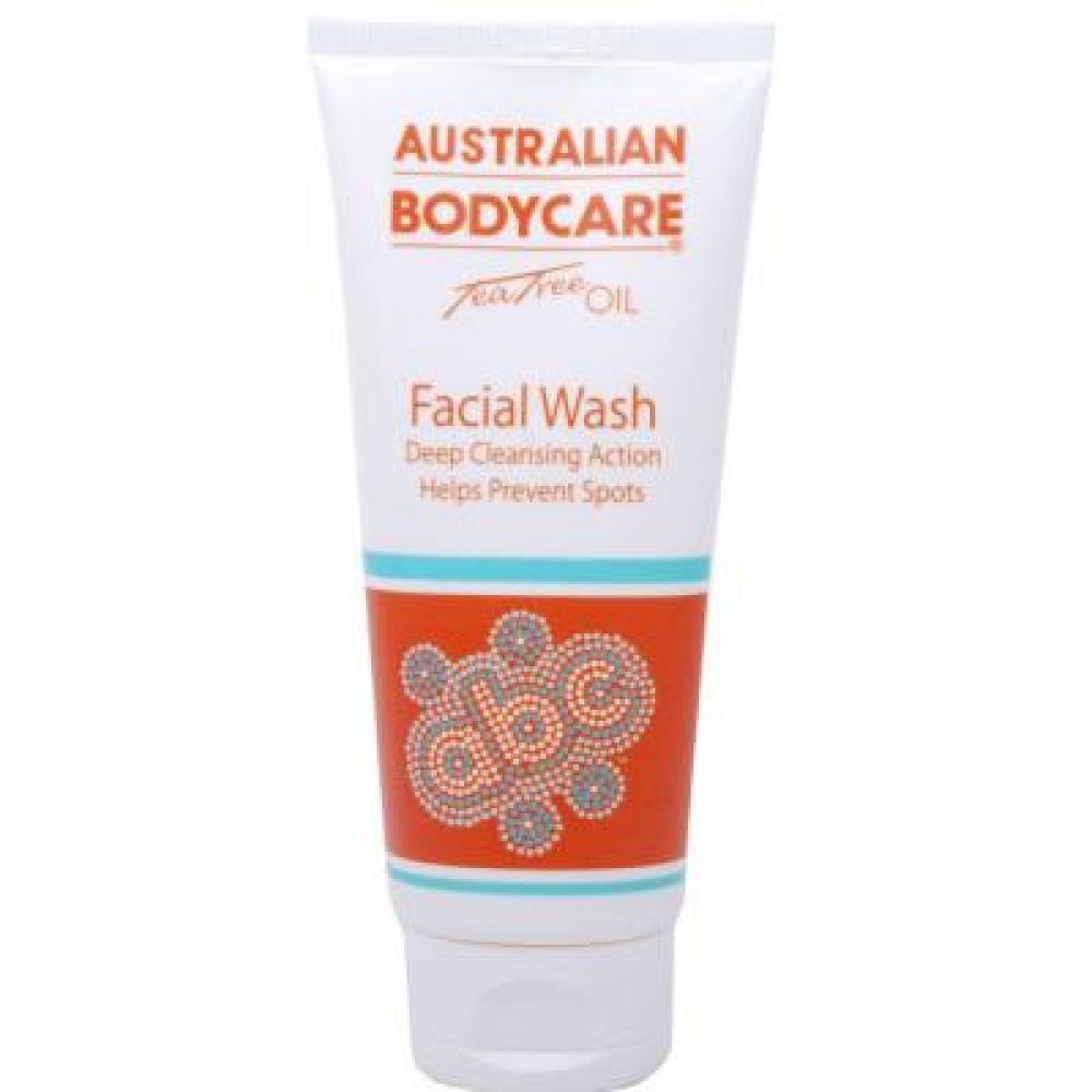 AUSTRALIAN BODYCARE Tea tree oil mycí emulze na obličej 100 ml