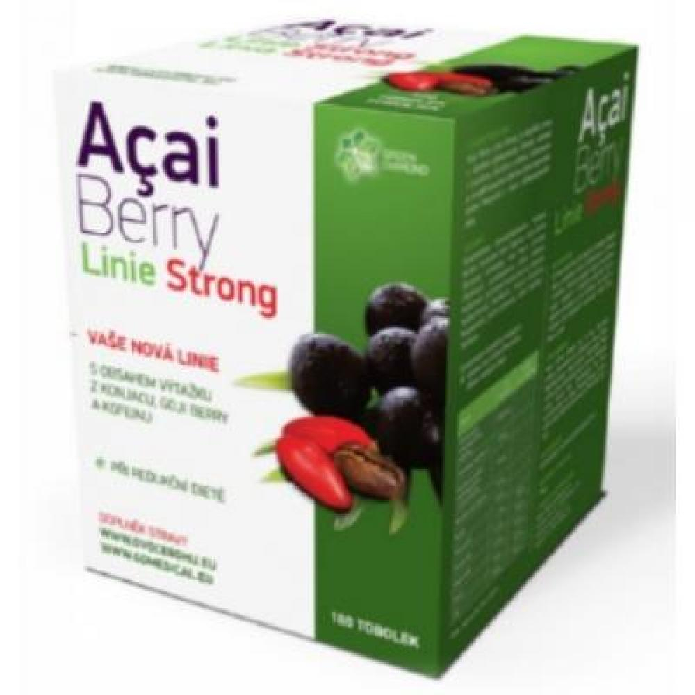 Acai Berry Linie Strong 180 tob.
