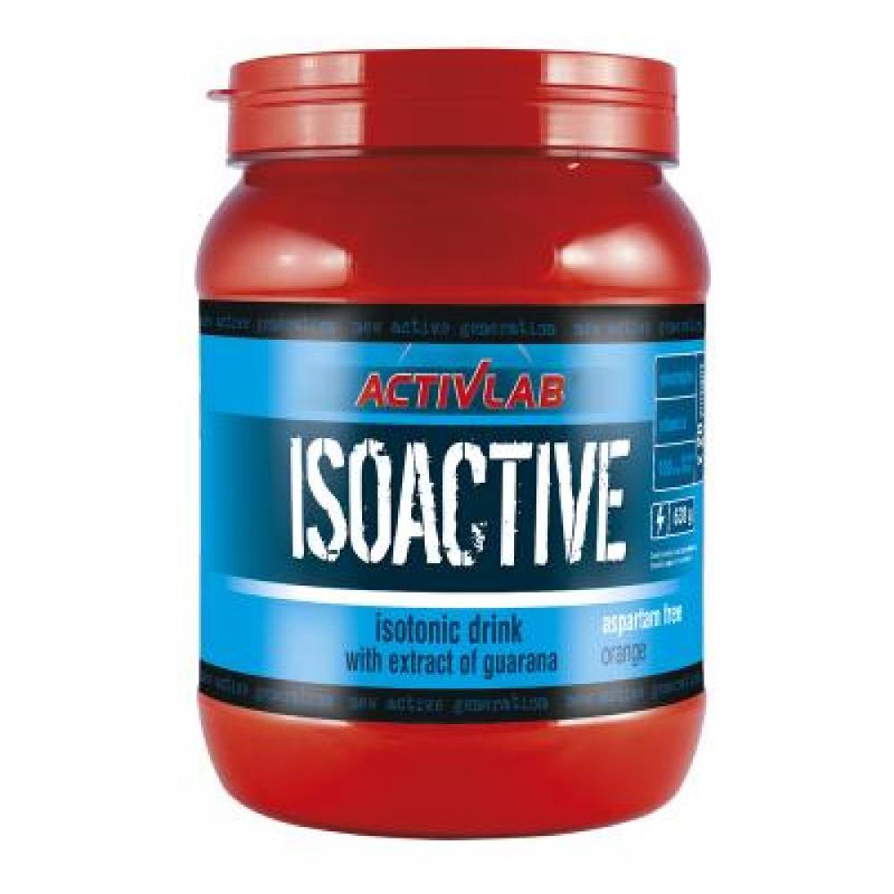 ActivLab Isoactive iontový nápoj s guaranou 630 g pomeranč
