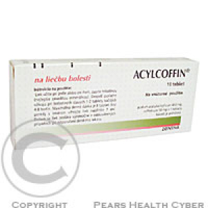 ACYLCOFFIN  10 Tablety