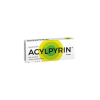 ACYLPYRIN 500 mg 10 tablet