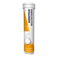 ADDITIVA Multivitamin Pomeranč 20 šumivých tablet