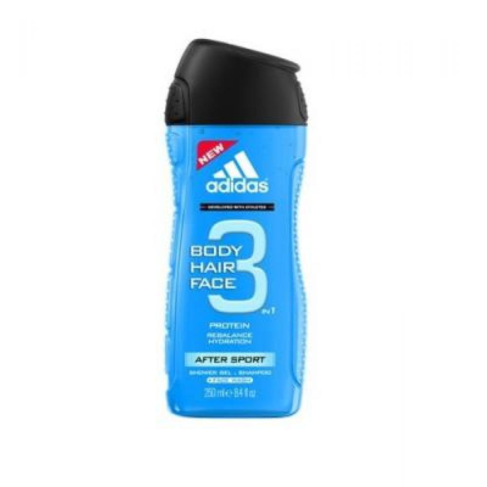 Adidas 3in1 After Sport Sprchový gel 250ml
