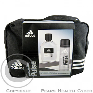 ADIDAS DYNAMIC After Shave 100ml + deo 150 ml (taška)