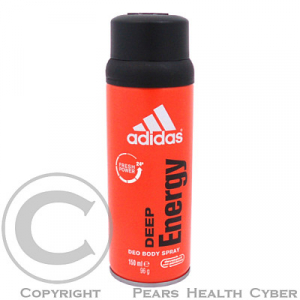 ADIDAS Deep Energy Deo spray 150 ml pánský