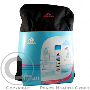 ADIDAS Pure Lightness edt 30ml + deo + sprchový gel + batoh