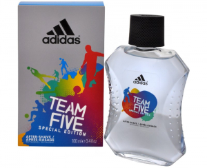 Adidas Team Five Voda po holení 100ml