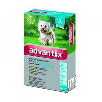 ADVANTIX Spot-on pro psy 4-10 kg 4x1 ml