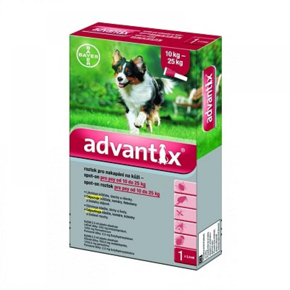 ADVANTIX Spot-on pro psy 10-25 kg 1x2,5 ml