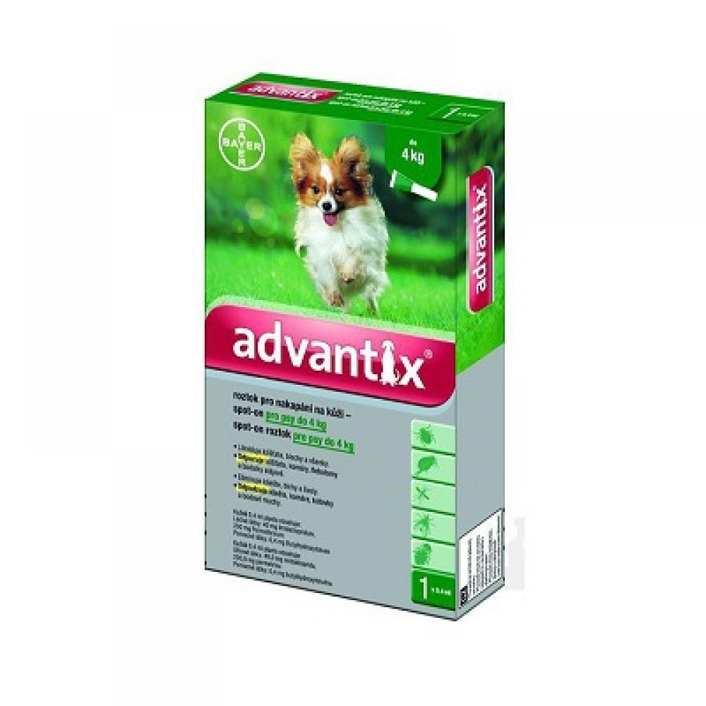 ADVANTIX Spot-on pro psy do 4 kg 1x0,4 ml