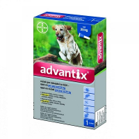 ADVANTIX Spot-on pro psy nad 25 kg 1x4 ml