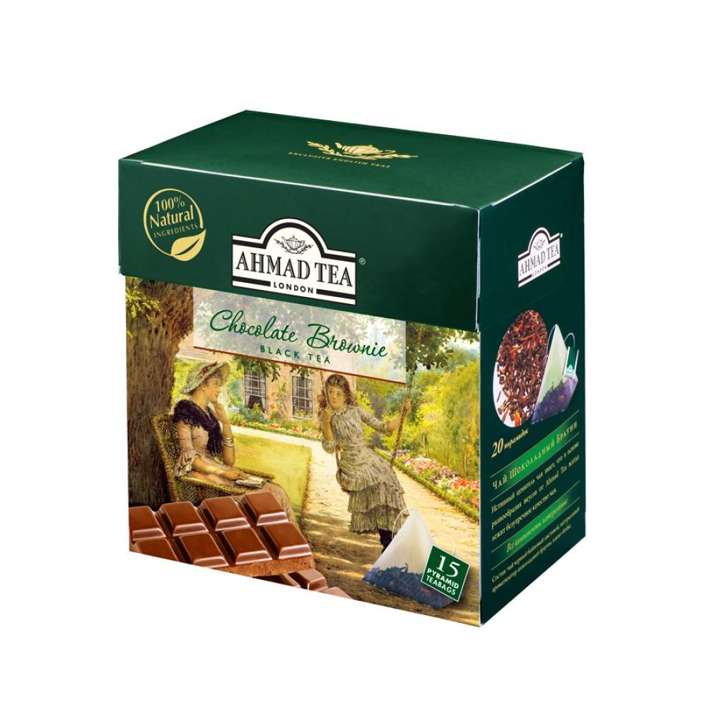 AHMAD TEA Chocolate Brownie - pyramids 15x1,8 g