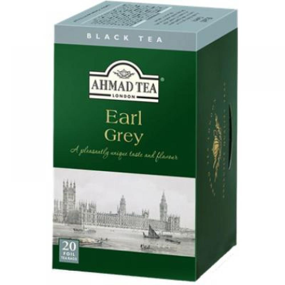 AHMAD TEA Earl Grey Tea 20x2 g