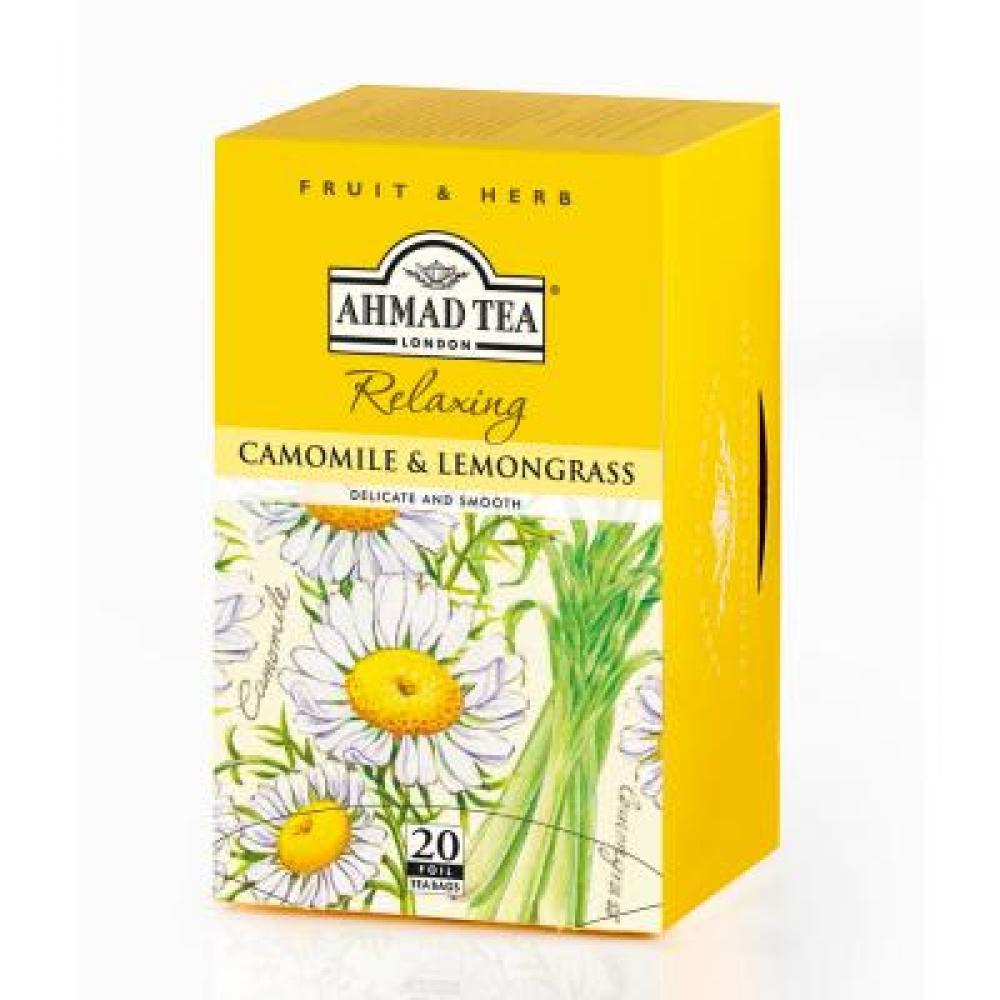 AHMAD TEA Heřmánek a citronová tráva 20x1,5 g