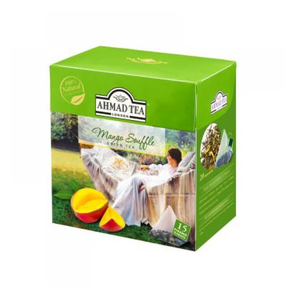 AHMAD TEA Mango Souffle - pyramids 15x1,8 g