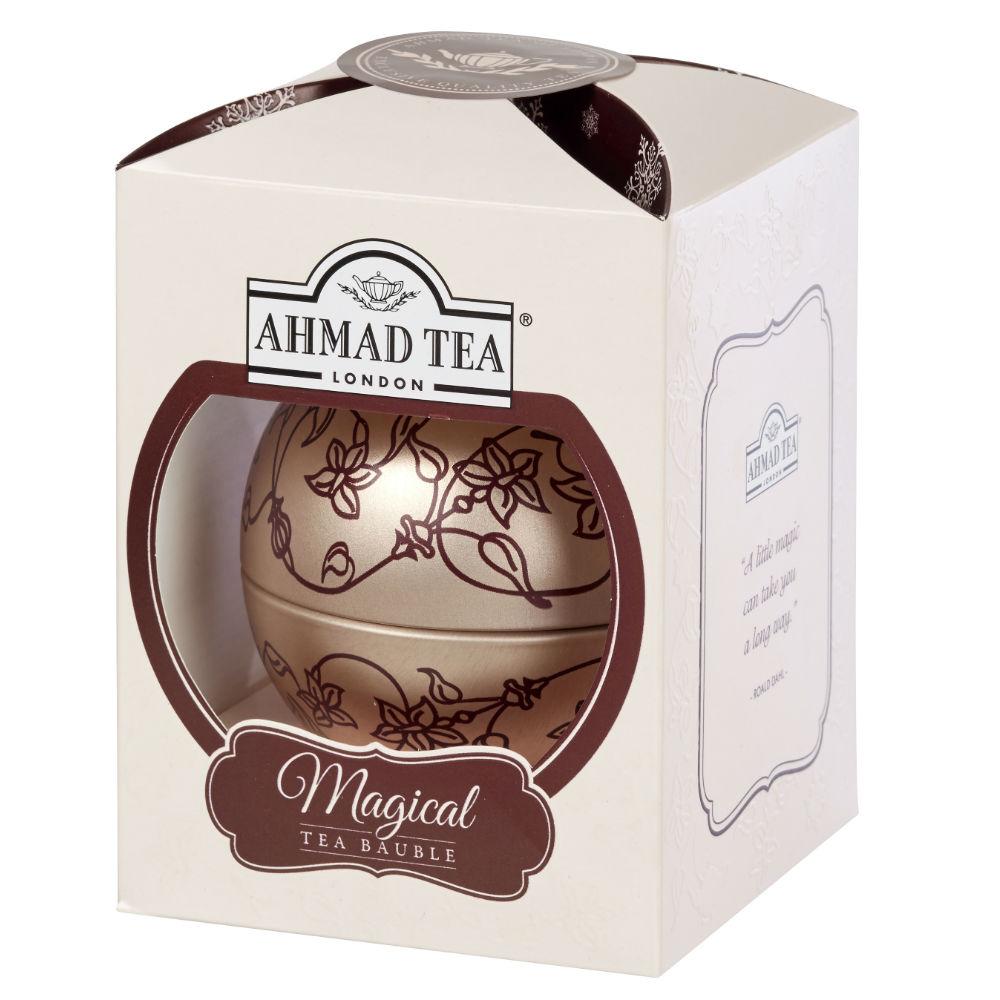 AHMAD TEA Vánoční ozdoba sypaný čaj English Breakfast 30 g