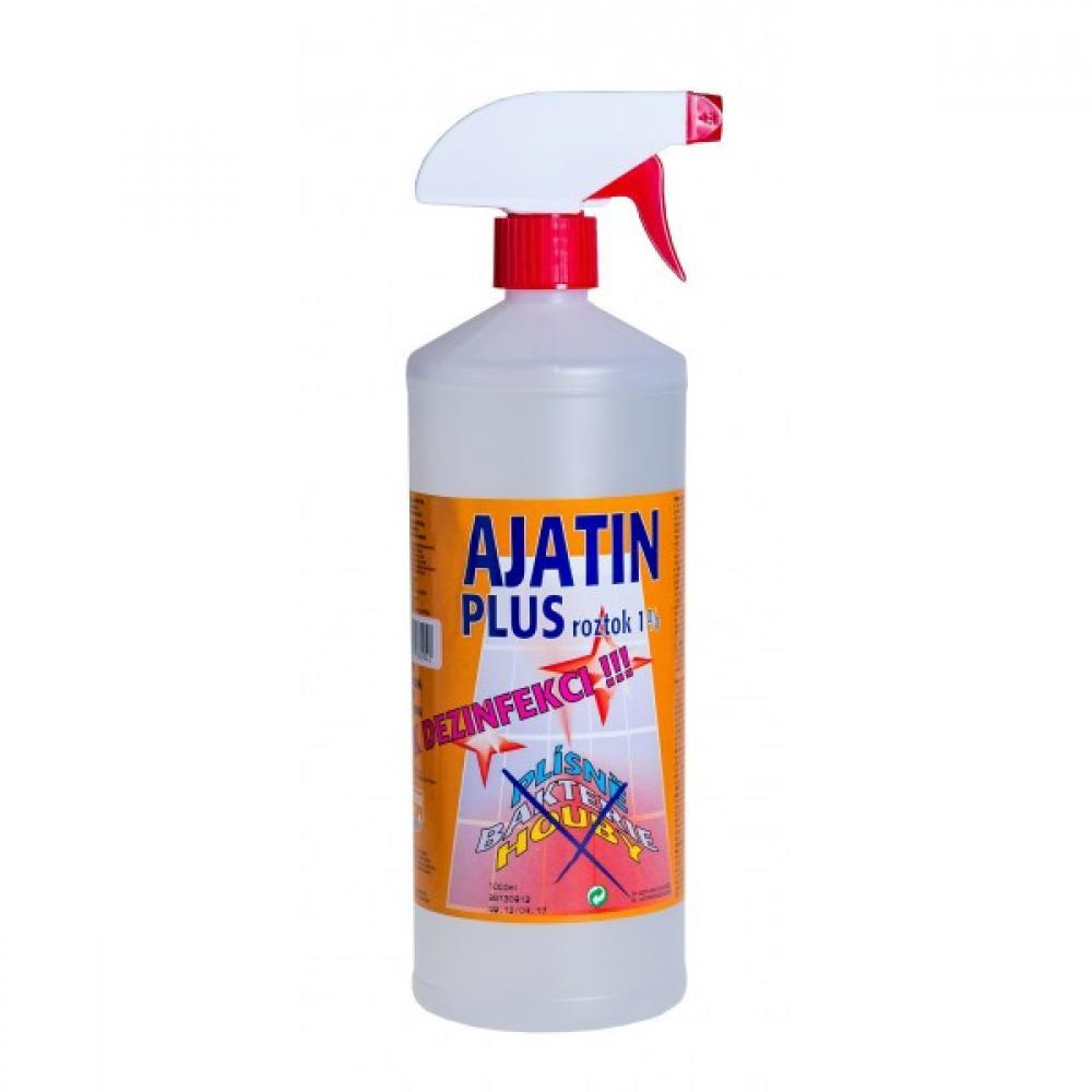 AJATIN Plus dezinfekční roztok 1% s mechanickým rozprašovačem 100 ml