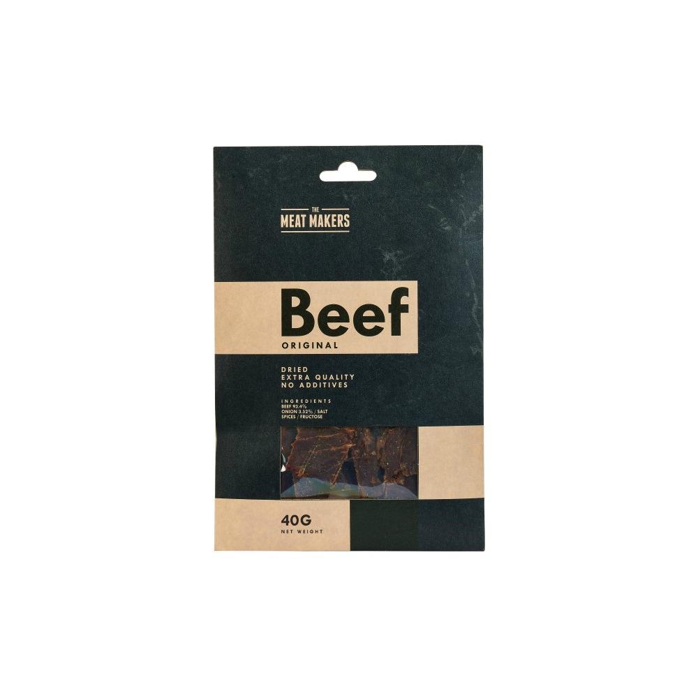 AKCE Meat Makers Beef Jerky Original sušené maso hovězí 40 g