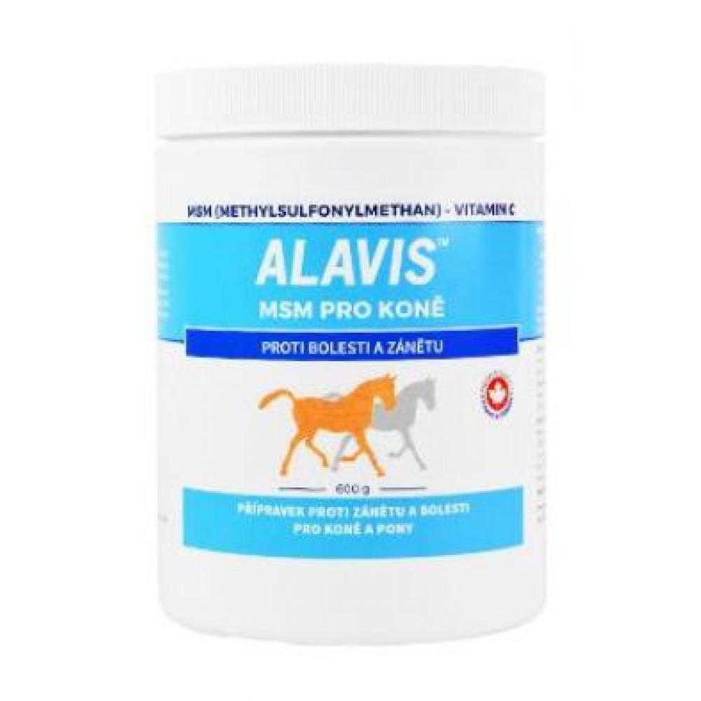 Alavis MSM pro koně a pony plv. 600 g