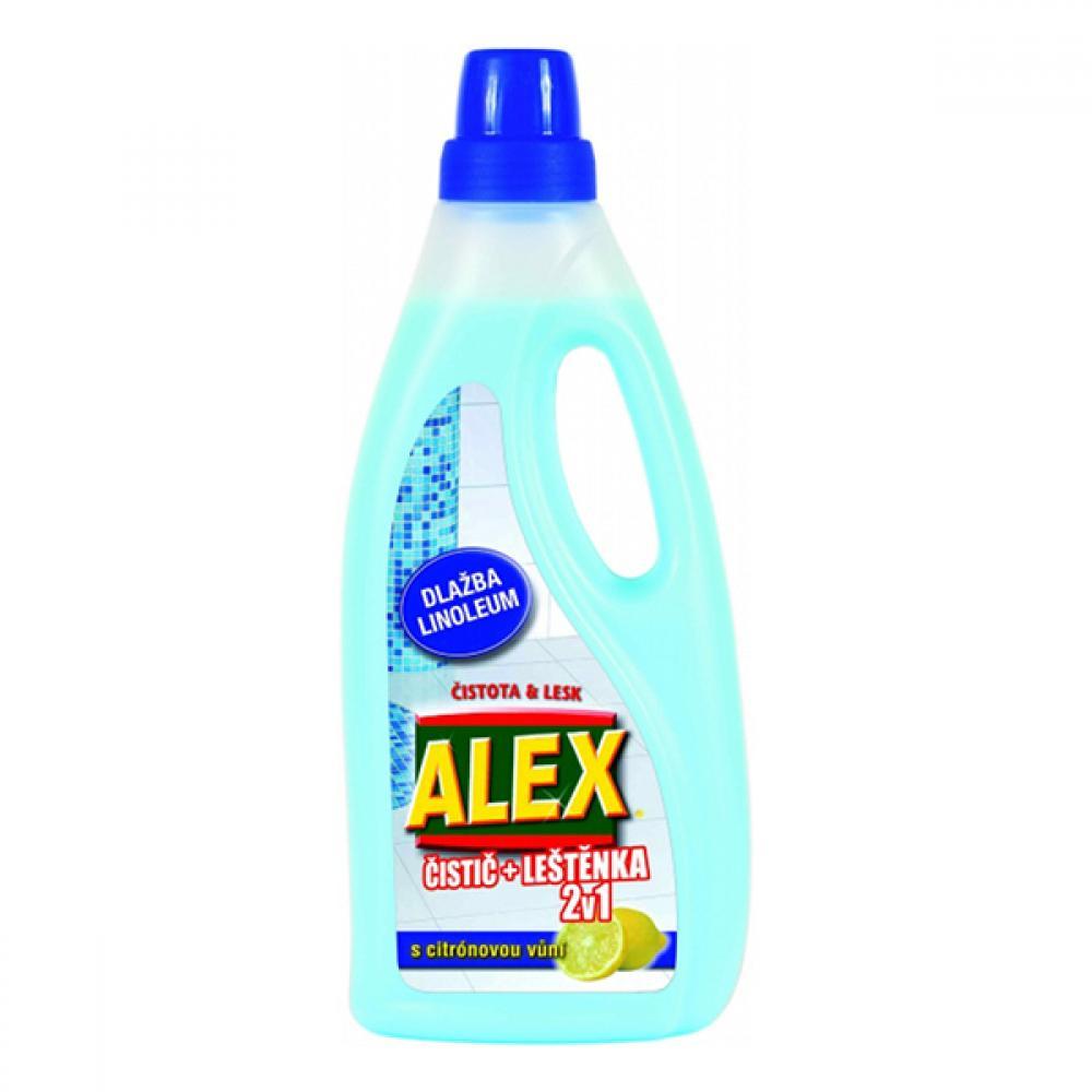 Alex 750ml 2v1 čistič leštěnka dlažba,lino