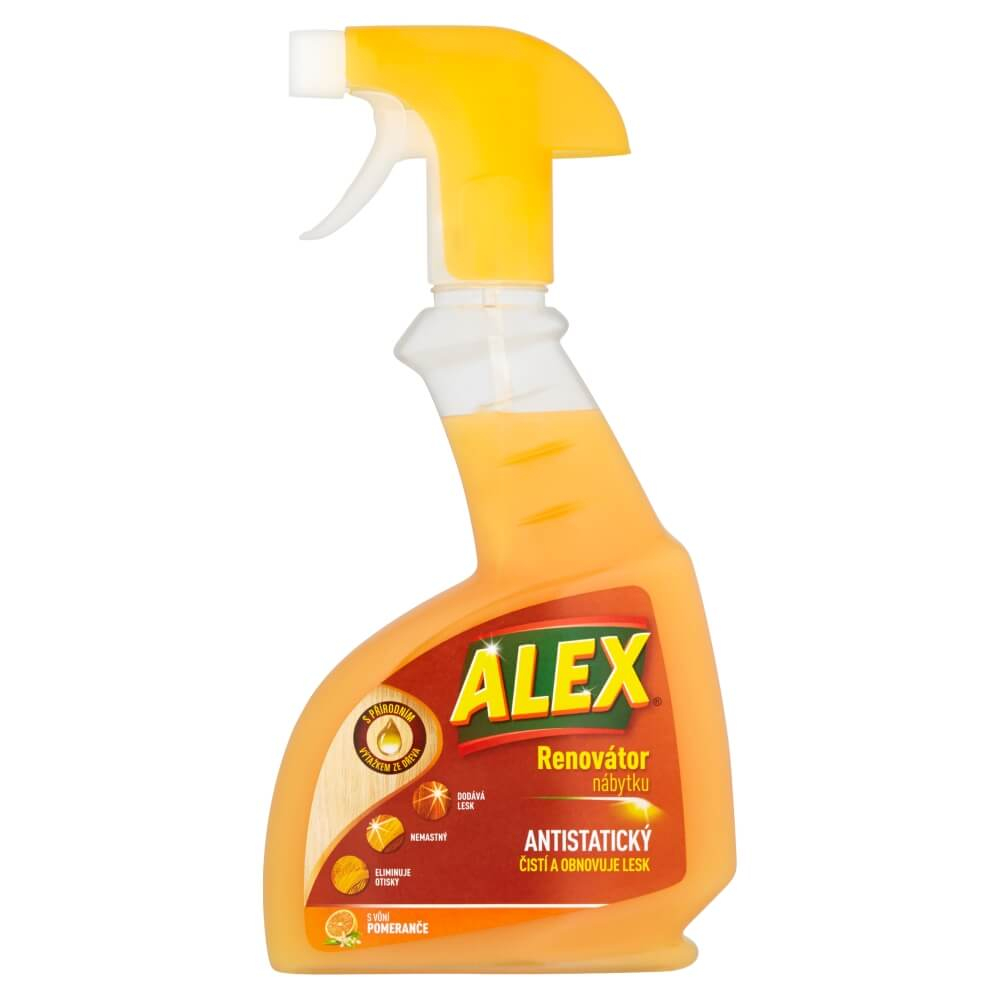 Alex sprej na nábytek pomeranč 375ml/500ml