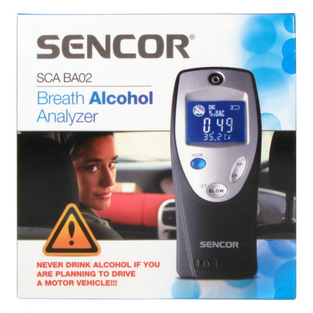 Alkohol tester SENCOR SCA BA02