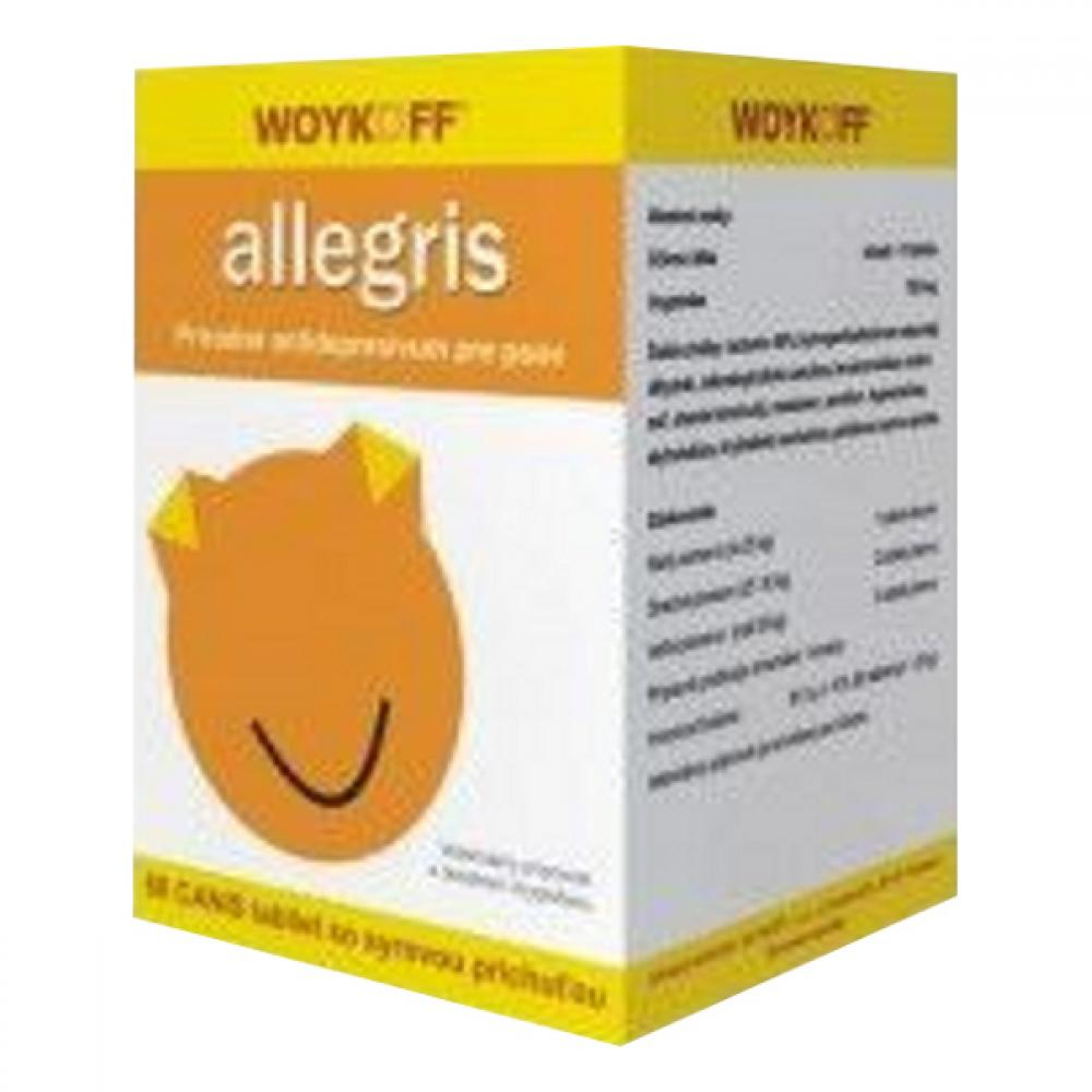 Allegris CANIS (syrová příchuť) tbl.60