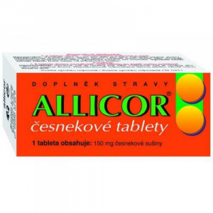 NATURVITA Allicor česnek 60 tablet