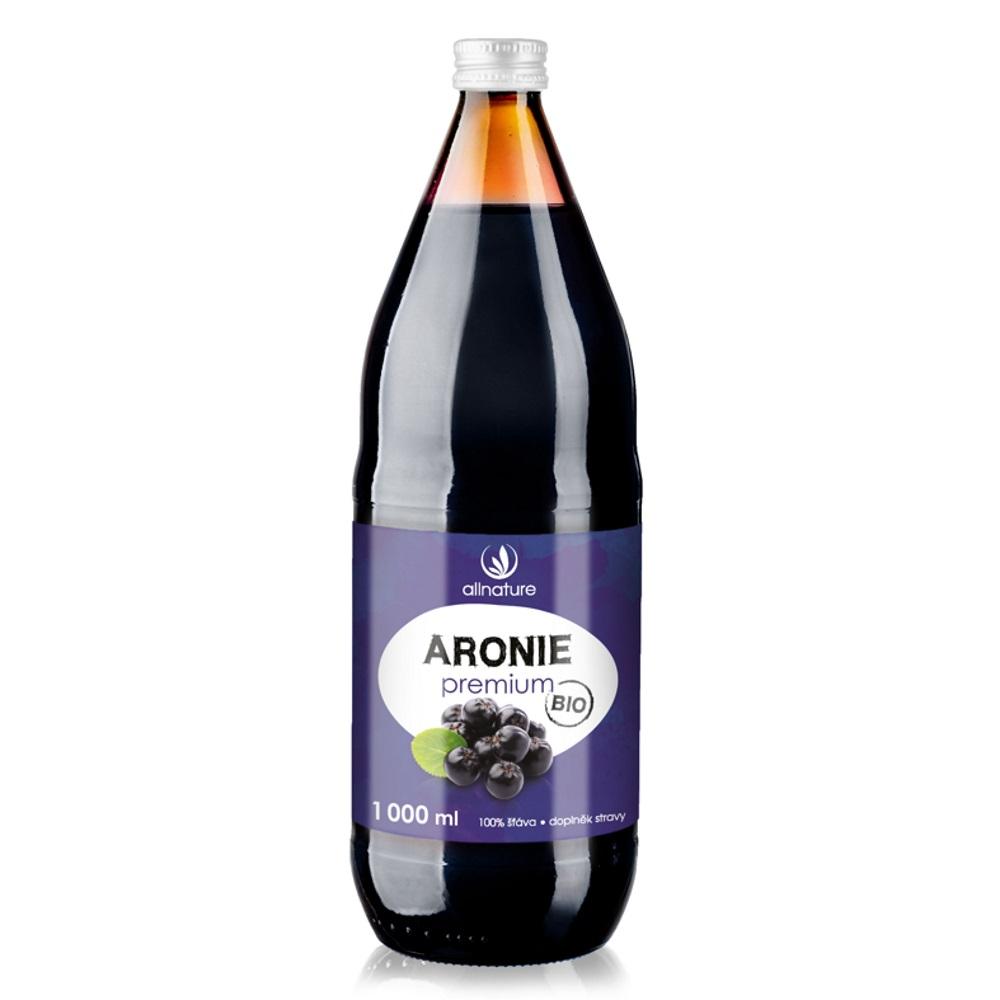 SonnenMacht Aronie Premium - 100% Bio šťáva 1000 ml