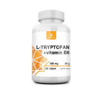 ALLNATURE L-tryptofan 200 mg/2,5 mg vitamín B6 60 tablet