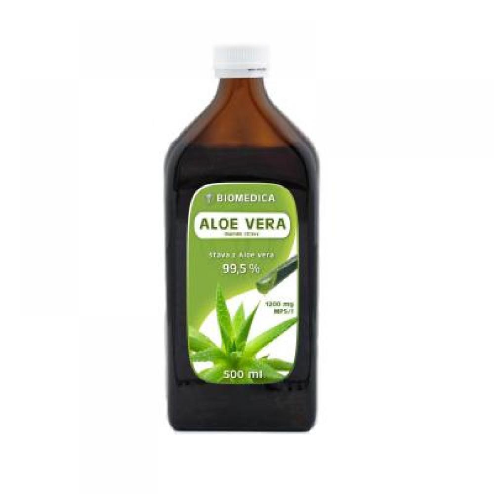 Biomedica Aloe vera šťáva 99.5 % 500 ml