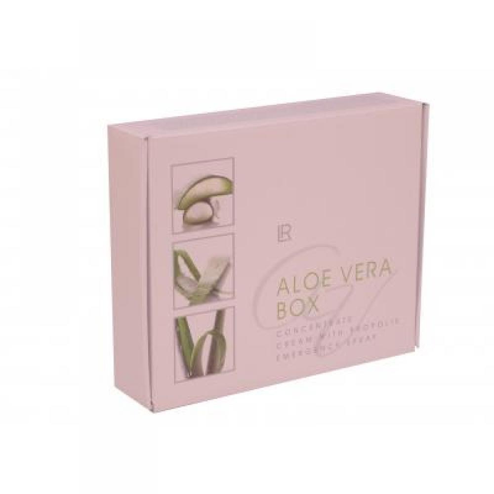 LR Aloe Vera koncentrát 100 ml + spray první pomoci 150 ml + krém s propolisem 100 ml dárková sada