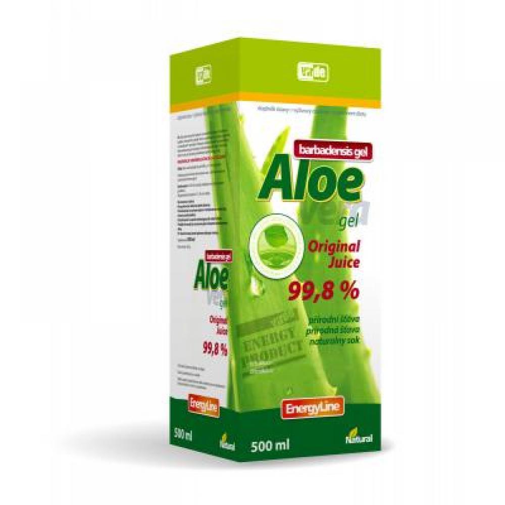 VIRDE Aloe vera gel přírodní šťáva 500 ml