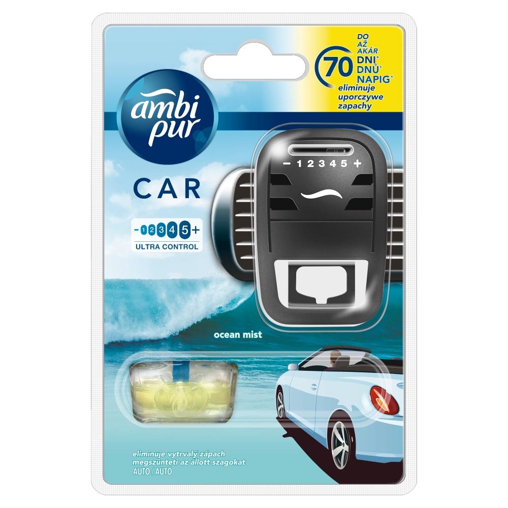 Ambi Pur Car Fresh Escapes Aqua strojek 7 ml