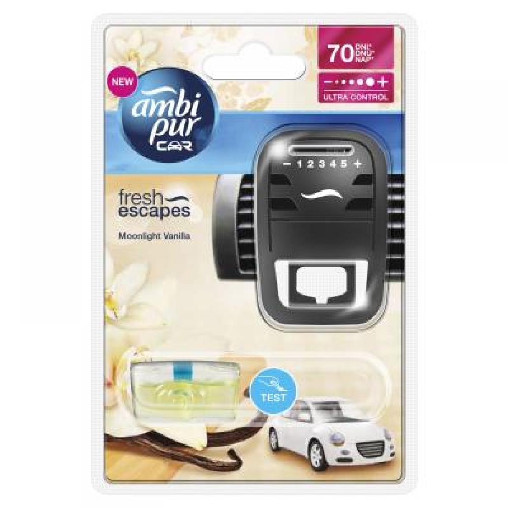 Ambi Pur Car strojek vanilla 7 ml