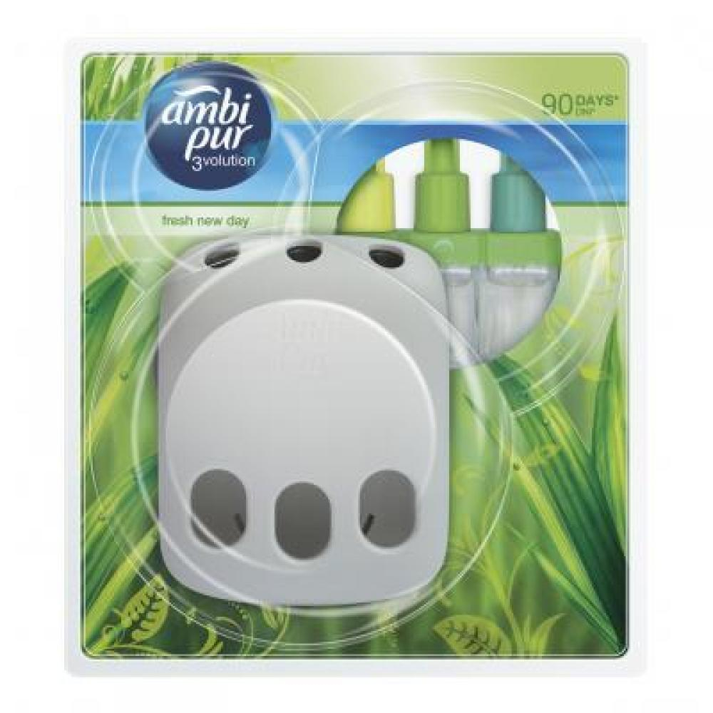 Ambi Pur elelektric 3volution strojek + náplň 20 ml Fresh New Day