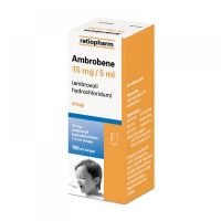 AMBROBENE 15 MG/5 ML  1X100ML Sirup