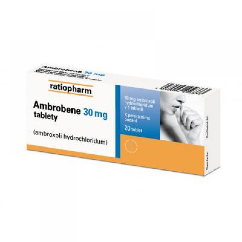 AMBROBENE 30 MG 20X30MG Tablety