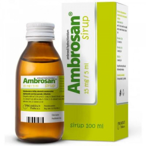 Ambrosan 15mg/5ml Sirup 100 ml